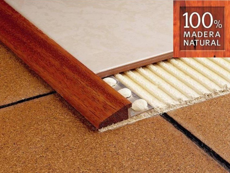 Wooden flooring profile NOVONIVEL® | Flooring profile by EMAC Italia