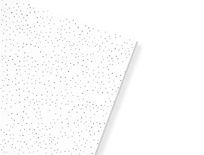 Plasterboard ceiling tiles ECOMIN FILIGRAN by Knauf Italia