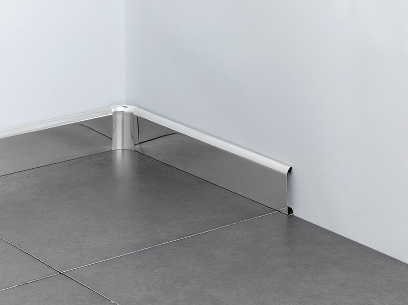 Stainless steel Skirting board NOVORODAPIE® | Stainless steel Skirting board - EMAC Italia