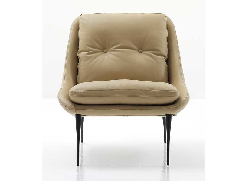Upholstered armchair FENCY by Nube Italia