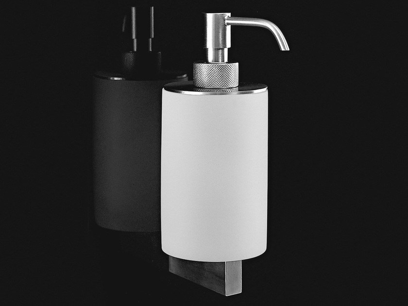 Wall-mounted stainless steel liquid soap dispenser JUST - Antonio Lupi Design®