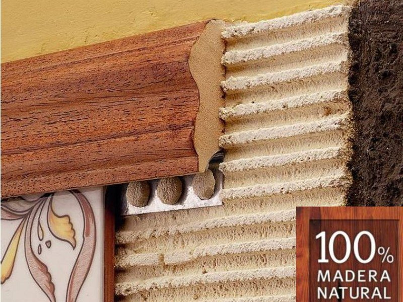 Decorative wooden edge profile NOVOMOLDURA - EMAC Italia