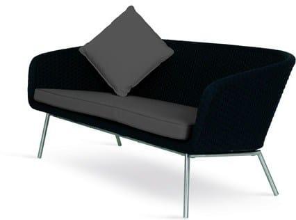 Design 2 seater Batyline® sofa SHELL SOFA | 2 seater garden sofa by FueraDentro