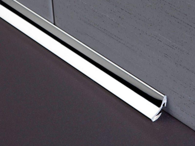 Bordo antibatterico in acciaio inox per pavimenti novoescocia 4 mini collezione novoescocia by - Profili acciaio per piastrelle prezzi ...