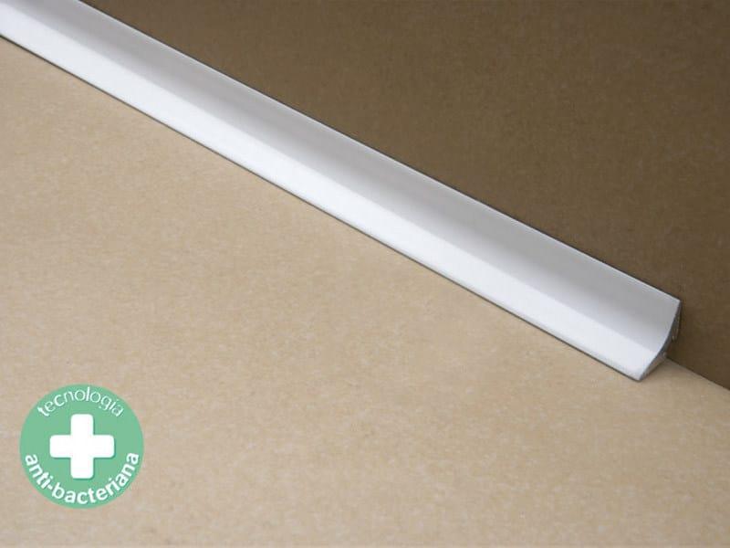 Antibacterial edge profile for floors NOVOESCOCIA® 4 MINI | Antibacterial edge profile - EMAC Italia