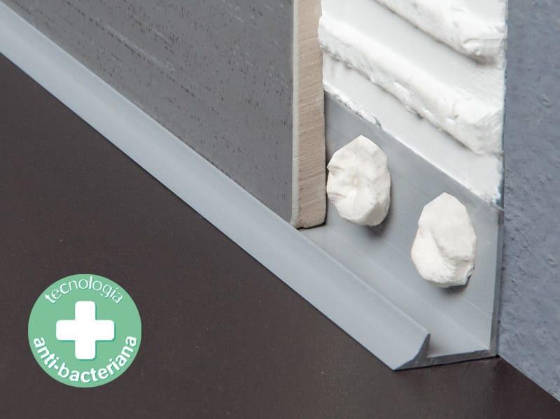 Antibacterial edge profile for floors NOVOESCOCIA® XS - EMAC Italia