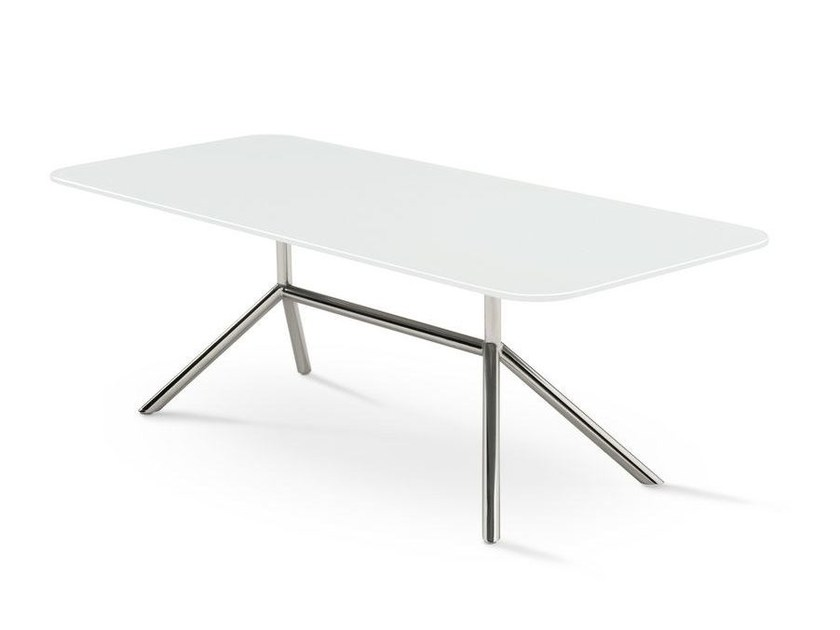 Rectangular steel coffee table SHELL SALON | coffee table - FueraDentro