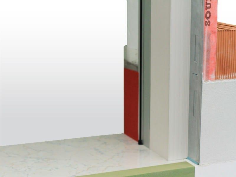 Controtelaio per finestra in finito new filo muro de faveri - Finestre filo muro ...
