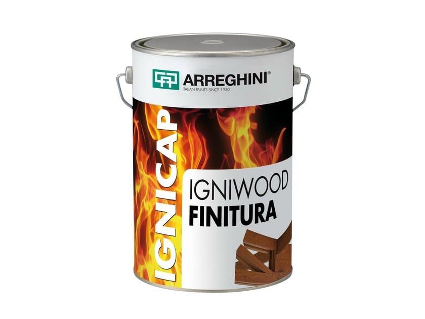 Fire-retardant paint IGNISTEEL FINITURA   Fire-retardant paint - CAP ARREGHINI