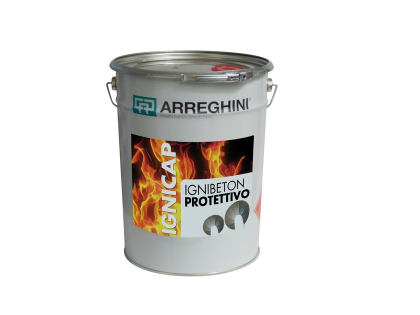 Fire-retardant paint IGNIBETON PROTETTIVO | Fire-retardant paint - CAP ARREGHINI