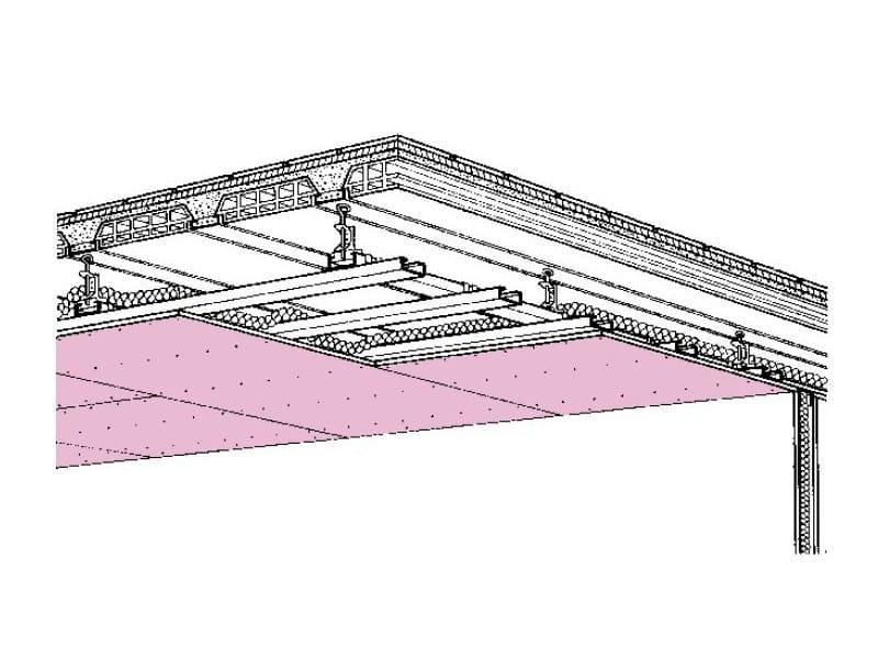 Antiseismic ceiling tiles D112 - Knauf Italia