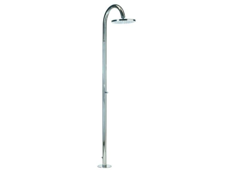 Floor standing shower panel with overhead shower OKI FLOOR - Bossini