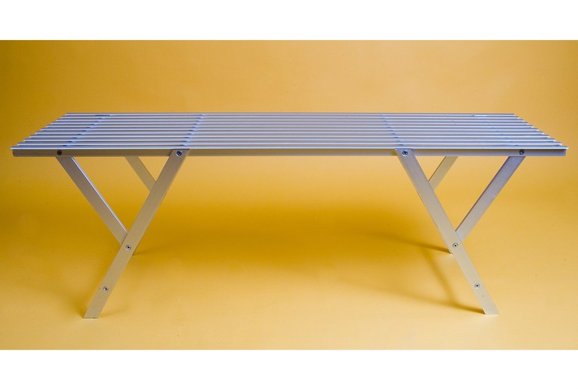 Aluminium garden bench PANKETTA - KRIPTONITE
