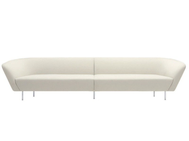 Sectional modular sofa LOOP | Modular sofa - Arper