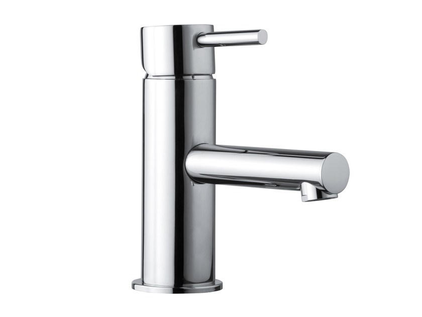 Design countertop 1 hole brass washbasin mixer OKI | Washbasin mixer - Bossini