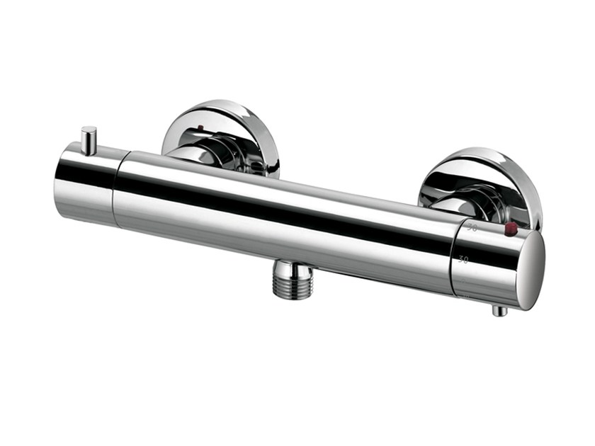 Design thermostatic brass shower tap with diverter OKI | Thermostatic shower tap - Bossini