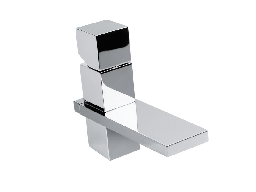 Design single handle brass washbasin tap CUBE | Washbasin tap - Bossini
