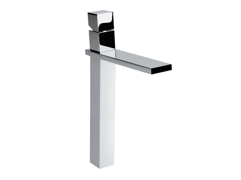 Design countertop single handle brass washbasin tap CUBE | Washbasin tap - Bossini