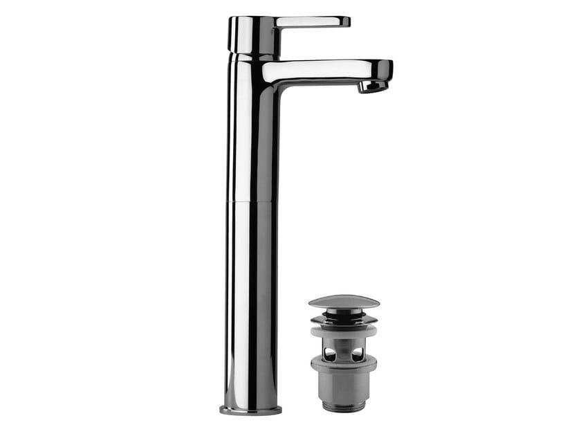 Chrome-plated 1 hole washbasin mixer CORNER | 1 hole washbasin mixer - Giulini G. Rubinetteria