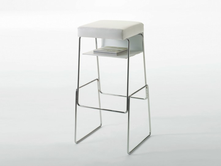 High stool with storage space GINGER - BD Barcelona Design