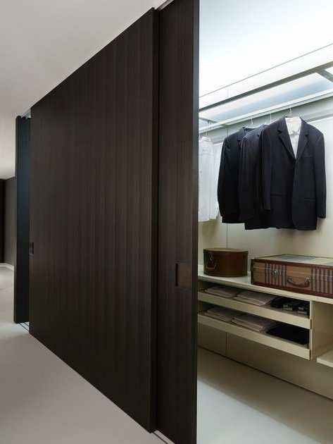 Wooden partition wall SHIFT - Porro