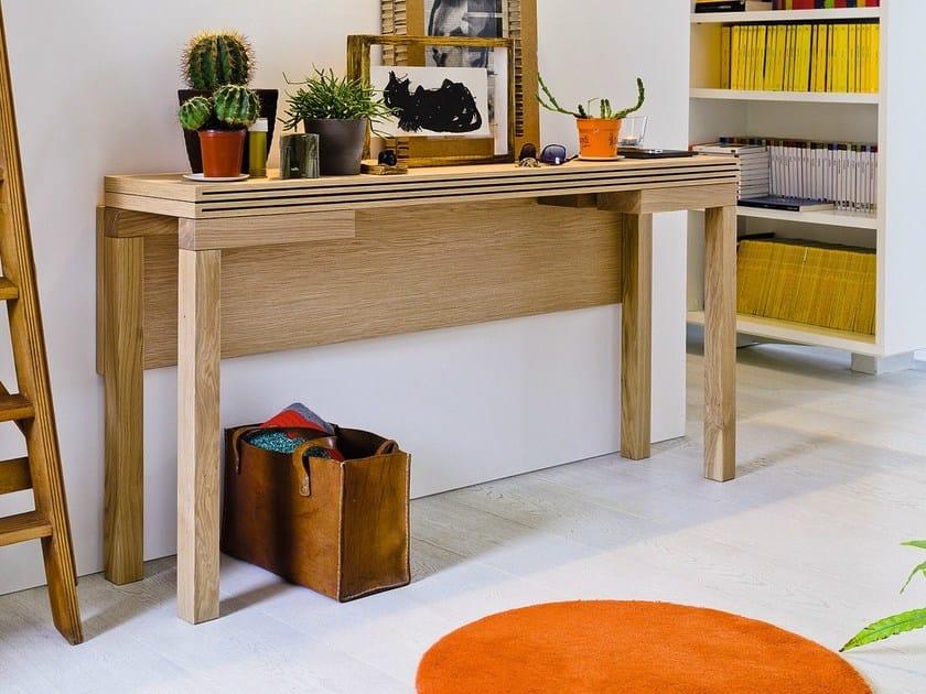 papillon table console en ch ne by sculptures jeux by eppis design bernard vuarnesson. Black Bedroom Furniture Sets. Home Design Ideas