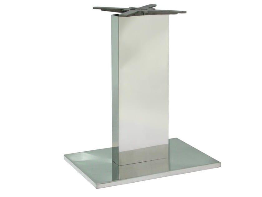 Base per tavoli in acciaio inox bainox 1 vela arredamenti for Vela arredamenti