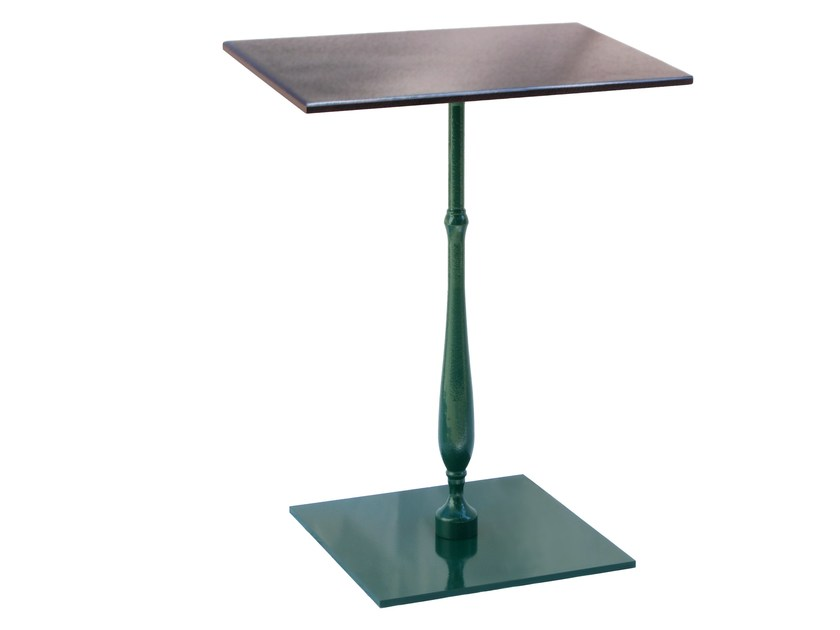 Square cast iron table COLOR-LIB-44 - Vela Arredamenti