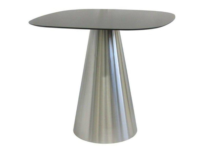 Stainless steel table JAR by Vela Arredamenti