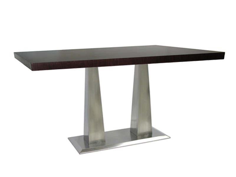 Rectangular stainless steel table ISOPIRA-64-X - Vela Arredamenti