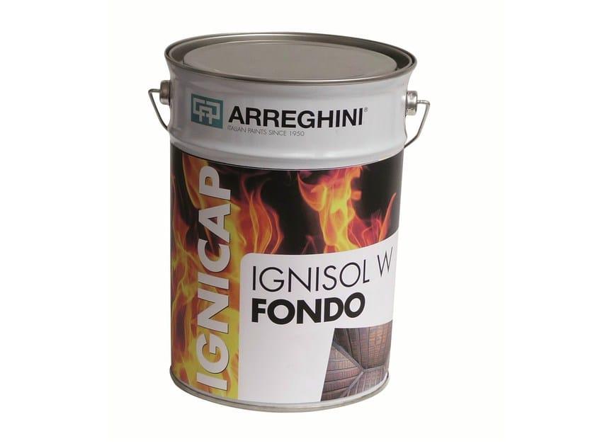 Fire-retardant finish IGNISOL W FONDO | Fire-retardant finish - CAP ARREGHINI