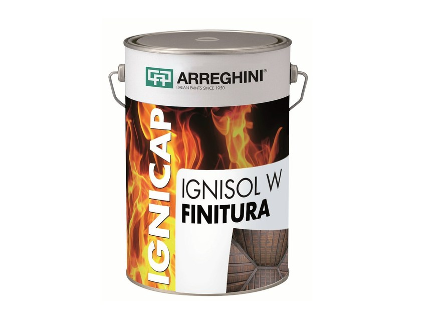 Fire-retardant finish IGNISOL W FINITURA | Fire-retardant finish - CAP ARREGHINI