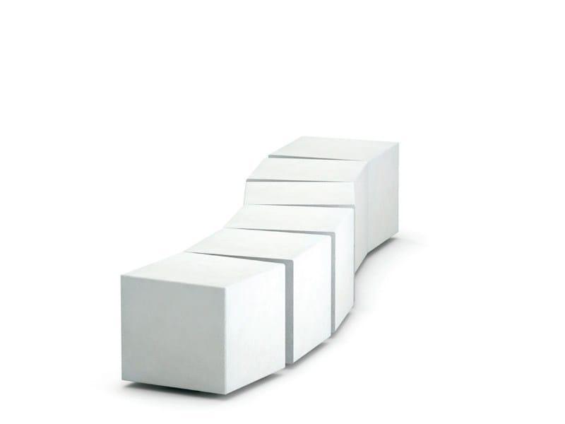 Sectional Modular Bench TAVIRA - CEDA