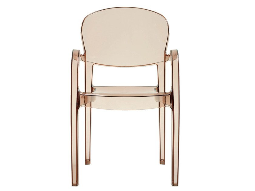 Stackable polycarbonate chair JOLLY | Chair - Vela Arredamenti