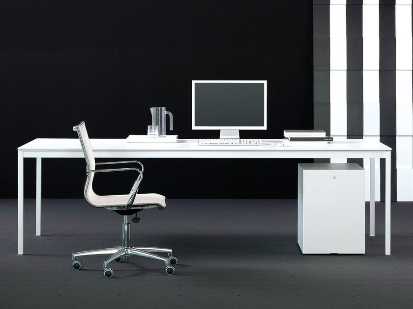 MDF executive desk BIANCONERO - FANTONI