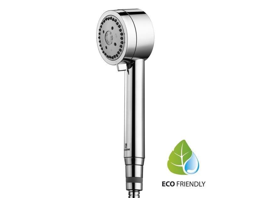 Design 3-spray handshower with anti-lime system for shower CYLINDRICA/3 | Handshower - Bossini