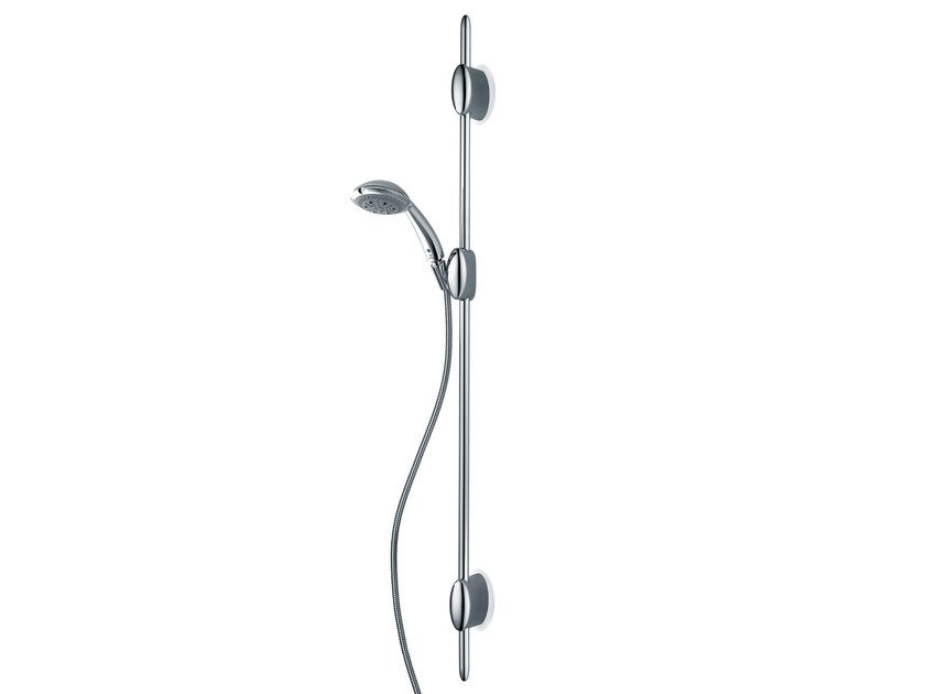Design brass shower wallbar with hand shower with hose D96001 OCEAN/4 | Shower wallbar - Bossini