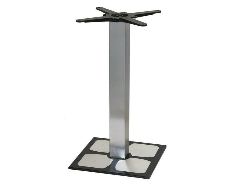 Stainless steel table base GURU-44-X-X - Vela Arredamenti