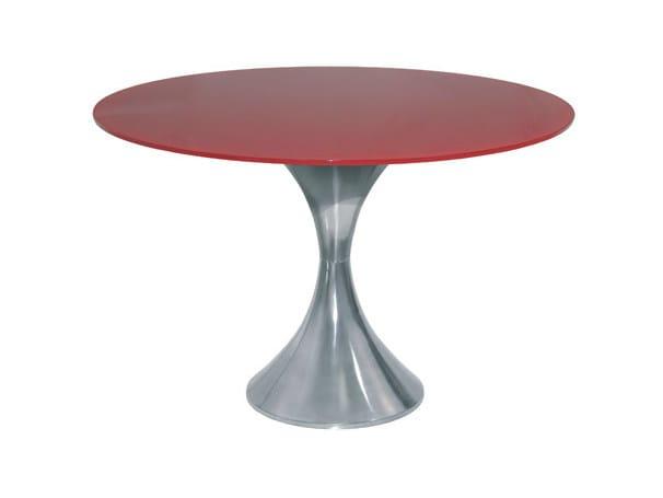 Round aluminium table VERTIGO | Table - Vela Arredamenti