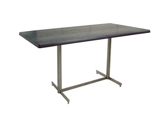 Rectangular stainless steel table CLIF-6-X - Vela Arredamenti