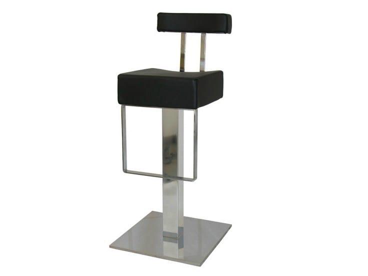 High upholstered stool SG085FX | Stool - Vela Arredamenti