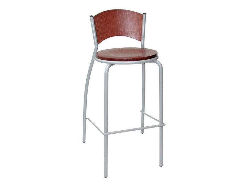 Wooden counter stool SG091FRAL | Counter stool - Vela Arredamenti