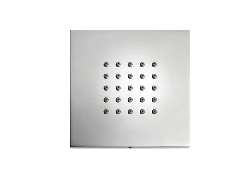 Built-in 1-spray side shower CUBIC FLAT | 1-spray side shower by Bossini