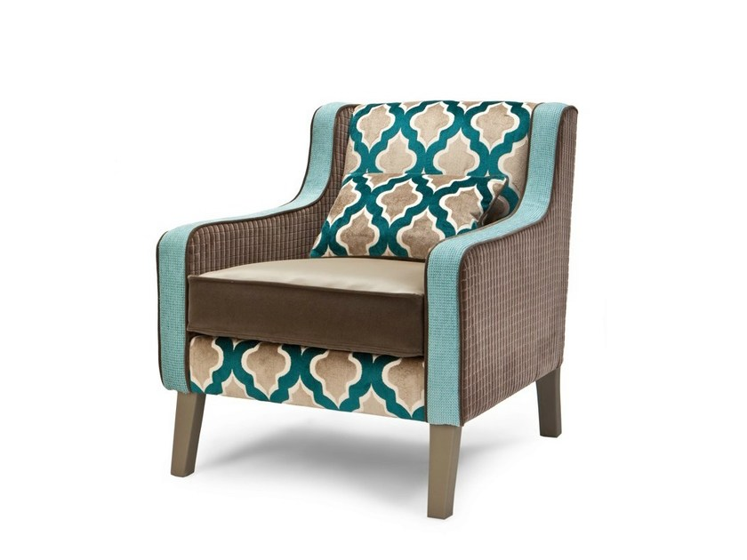 Upholstered Velvet Armchair Vintageone Urban Collection By Exedra Furniture