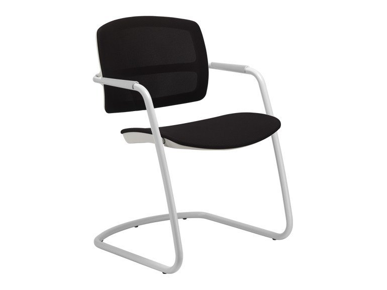 Cantilever ergonomic chair with armrests PK | Cantilever chair - SitLand