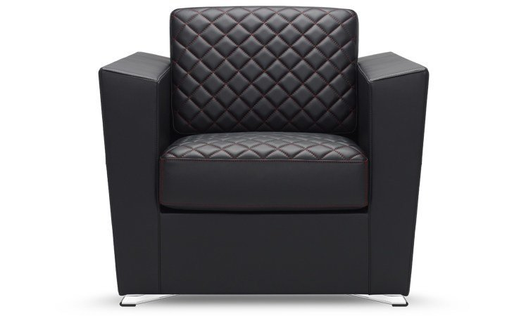 Upholstered armchair with armrests ATUM | Armchair - SitLand