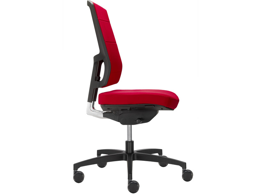 Ergonomic chair with 5-spoke base with casters 4 YOU | Task chair - SitLand