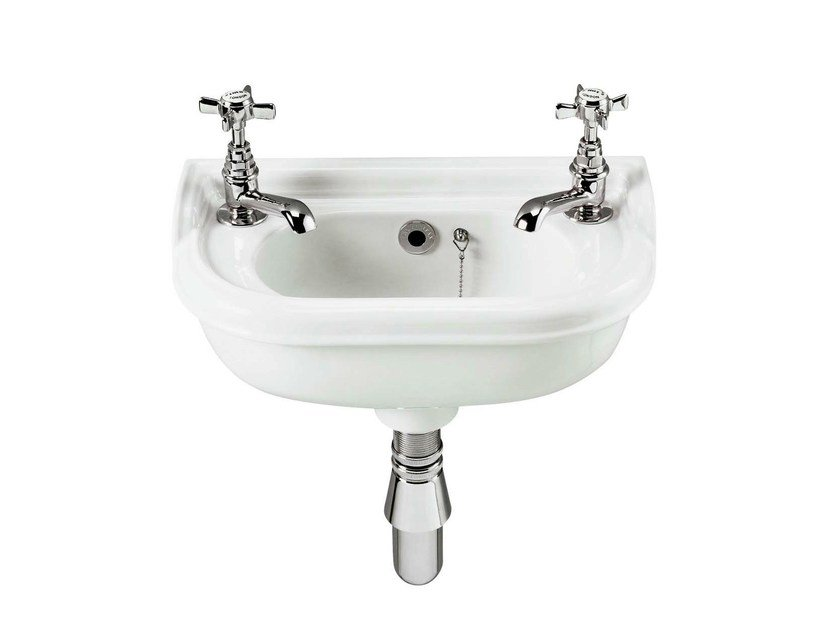 Wall-mounted ceramic handrinse basin VICTORIAN | Wall-mounted handrinse basin - GENTRY HOME