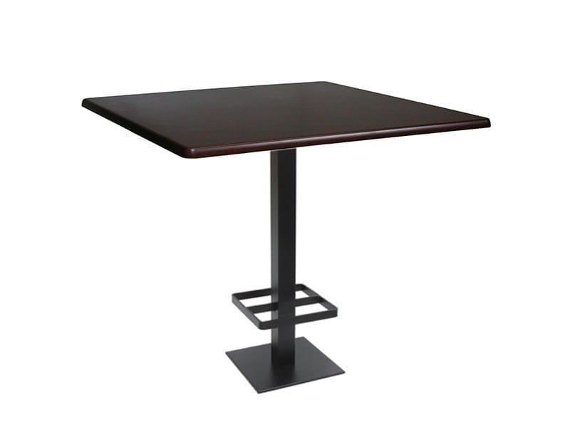Square cast iron high table SPRITZ-46-FF-PG - Vela Arredamenti