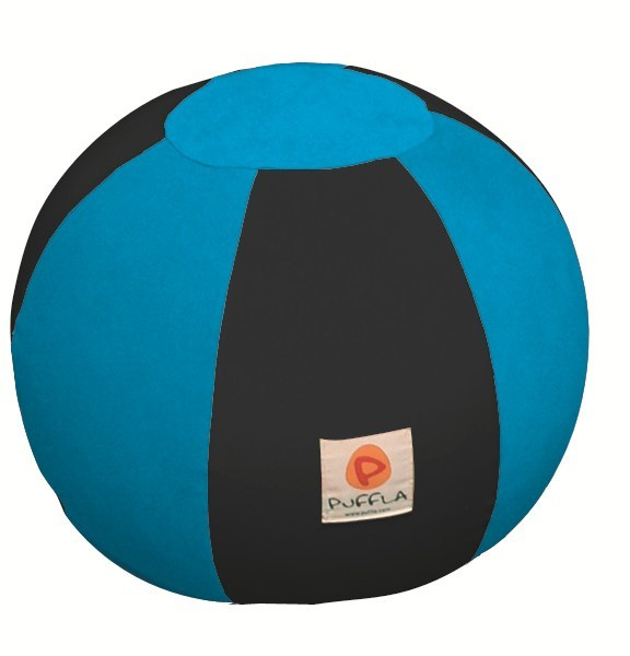 Fabric kids pouf with removable lining LOLLIPOP - Puffla